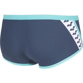 arena Team Stripe Laaggesneden Zwemshorts Heren, shark/mint